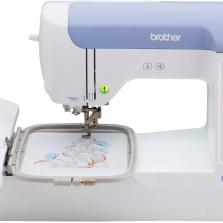 New Brother Pe800 5 x 7 Embroidery Machine